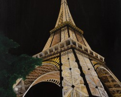Perspective Night – Eiffel Tower