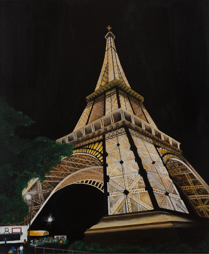 Perspective Night - Eiffel Tower