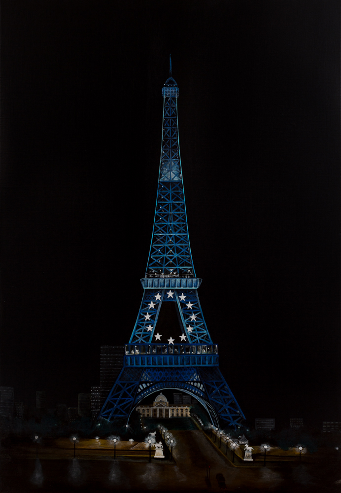 Towering Night - Paris