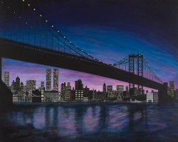 Night Bridge – New York