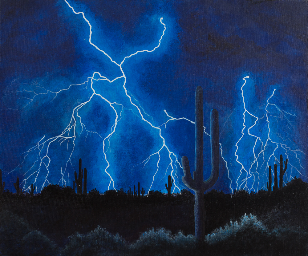 night flash | desert lightning | chrisrither.com